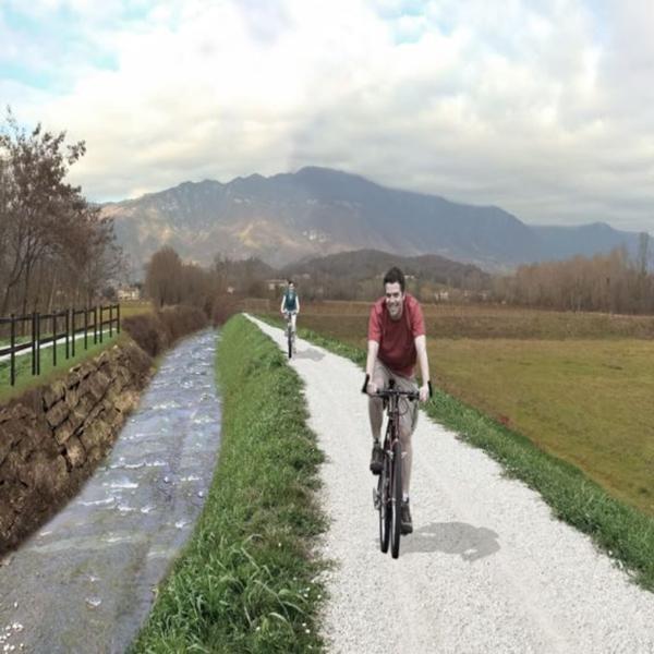 percorso ciclopedonale